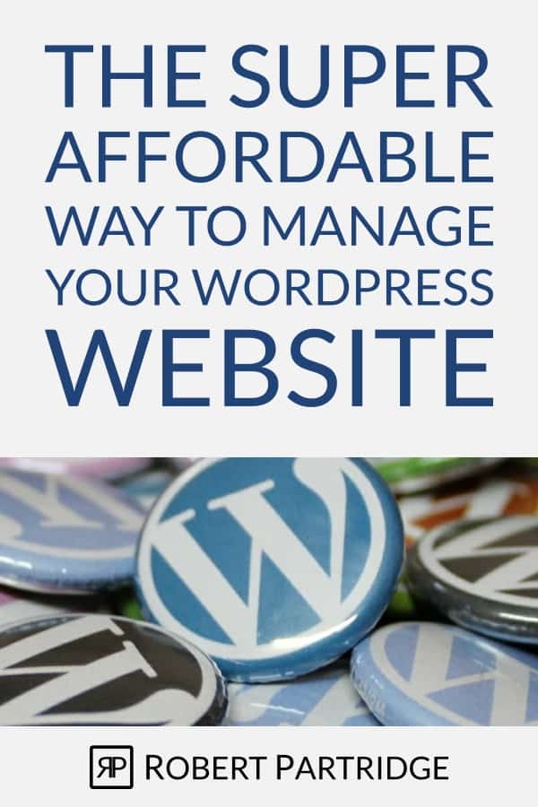 WordPress Maintenance Services for Bloggers & Small Business